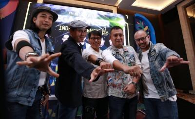 Padi Reborn Luncurkan Album Baru di Mega Konser Indera Keenam