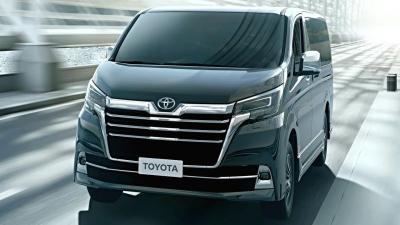 Toyota Granvia, MPV Mewah Berbasis HiAce