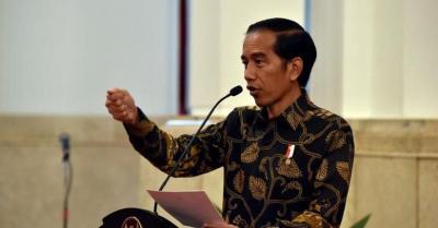 Jokowi Jawab soal Wacana Amandemen UUD 1945