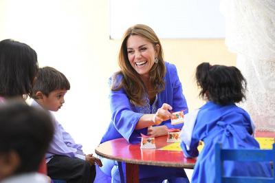 Sambangi Sekolah, Kate Middleton-Pangeran William Kampanye Kesehatan Mental di Pakistan
