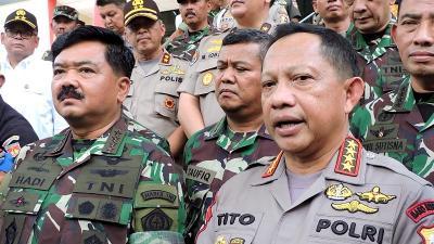 Panglima: TNI-Polri Siap Amankan Pelantikan Presiden dan Wapres