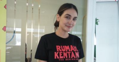 Syuting Film Horor, Luna Maya 'Ketempelan' Hantu di Puncak