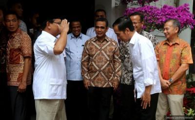 Jika Gabung Pemerintah, Gerindra Janji Setia pada Jokowi