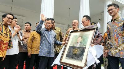 JK Bilang Selama Bertugas Bersama Jokowi Semuanya Menarik