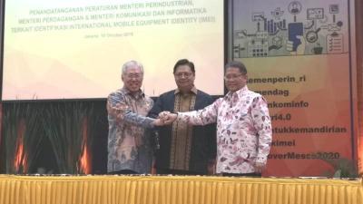 Tiga Kementerian Resmi Tanda Tangani Peraturan IMEI Ponsel