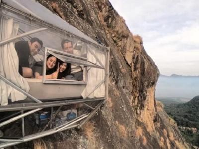 Hotel Gantung Gunung Parang Purwakarta Jadi Incaran Wisatawan Lokal dan Mancanegara