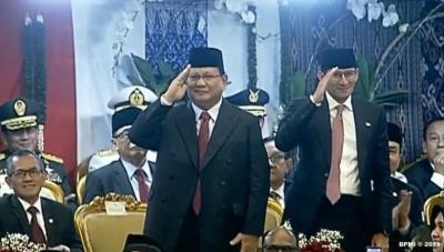 Tepuk Tangan Meriah saat Jokowi Sebut Prabowo dan Sandiaga Sahabat Baik