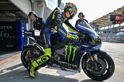 Meski Gagal Finis, Rossi Tetap Puas dengan Performa Motor Yamaha di Motegi