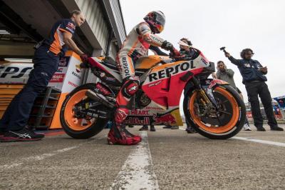 Bidik Triple Crown di MotoGP 2019, Marquez Berharap Besar pada Lorenzo