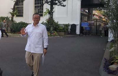 Jadi Calon Menteri, Edhy Prabowo Punya Kekayaan Rp4,56 Miliar