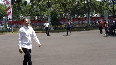 Nadiem Makarim Dipanggil Jokowi ke Istana Jelang Diumumkan Kabinet Kerja Jilid 2