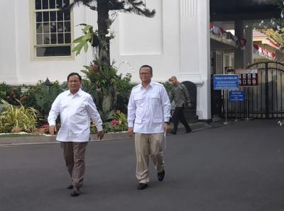 Prabowo: Saya Diminta Jokowi di Bidang Pertahanan