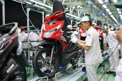 Sumbang Pertumbuhan Eksport, Honda BeAt Makin Bersinar di Pasar Luar Negeri