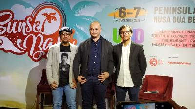 Band Reggae Legendaris Meriahkan Sunset Bali Music Festival