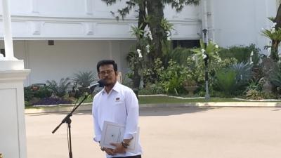 Dipanggil Jokowi ke Istana, Syahrul Yasin Limpo Diajak Bicara soal Pertanian