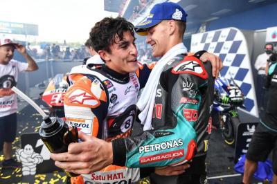 Marquez Waspadai Para Pembalap Yamaha di MotoGP Australia 2019