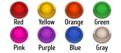 Tes Kepribadian: Warna-warni Tombol Ini Ungkap Kondisi Psikologis Kamu