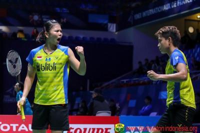 Hasil Wakil Indonesia di Hari Pertama Prancis Open 2019