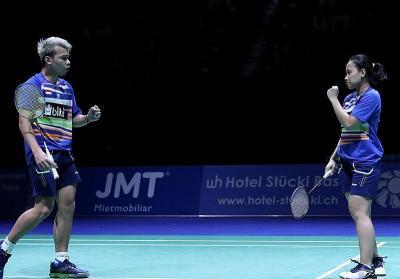 Rinov Pitha Siapkan Strategi Baru untuk Hadapi Wakil Malaysia di Prancis Open 2019