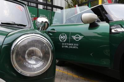 Begini Cara Mini Rayakan Hari Jadi ke-60 di Jakarta