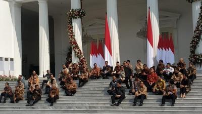 5 Hal Unik dari Pengumuman Menteri Kabinet Indonesia Maju Jokowi