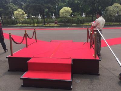 Karpet Merah Disediakan untuk Sertijab dari Ryamizard ke Menhan Prabowo