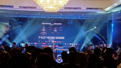 Ratusan Bikers Harley Ramaikan Gathering Nasional HOG di Bandung