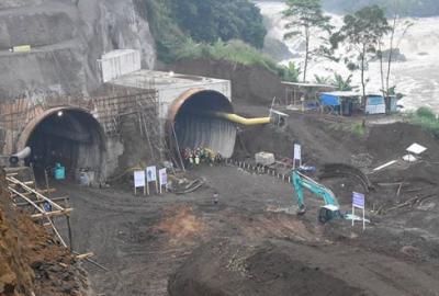 Tangkal Banjir Bandung, Proyek Terowongan Ini Rampung Akhir Tahun