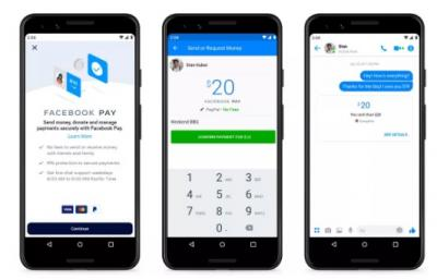 Alat Bayar Instagram hingga WhatsApp 'Facebook Pay' Resmi Dirilis
