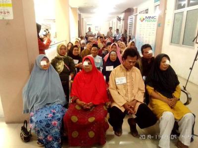 MNC Peduli dan RS Assyifa Gelar Operasi Katarak Gratis untuk Warga Prasejahtera di Sukabumi