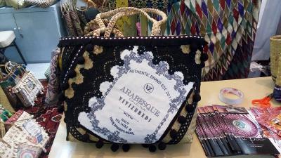 Tas Purun untuk Bawa Ikan Disulap Jadi High Fashion oleh Vivi Zubedi