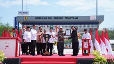 Waktu Tempuh Lampung-Palembang Lebih Singkat dengan Tol Terpeka