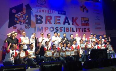 Gelaran Jamboree 2019, Anggota Komunitas Mobil Toyota Se-Indonesia Padati Ancol