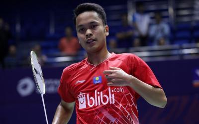 Anthony Waspadai Ancaman Wakil Tuan Rumah di Final Hong Kong Open 2019