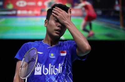 Anthony Kecewa dengan Keputusan Wasit di Final Hong Kong Open 2019