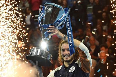 Stefanos Tsitsipas Masih Tak Percaya Bisa Juarai ATP Finals 2019