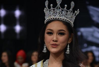 Prima di Karantina Miss World 2019 saat Musim Dingin, Princess Megonondo Intens Olahraga
