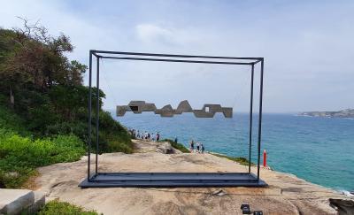 Sculpture by the Sea, Paduan Karya Seni Manusia dan Alam di Pantai Bondi