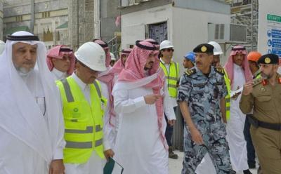 Pangeran Badr Tinjau Perluasan Masjidil Haram, Diharap Kelar Sebelum Musim Haji Tiba