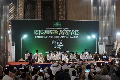Wapres Ma'ruf Amin Hadiri Maulid Akbar Nahdlatul Ulama