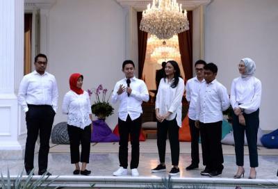 7 Stafsus dari Kalangan Milenial Harus Selaras dengan Visi Jokowi