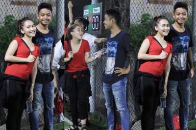 Pilih Main dengan Tetangga, Ayu Ting Ting Ogah Foya-foya