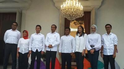 7 Stafsus Milenial Jokowi Bergaji Rp51 Juta Per Bulan