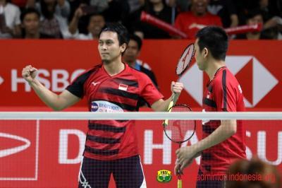 Ahsan Hendra Targetkan Semifinal di Indonesia Masters 2020