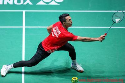 Jonatan Ingin Jaga Kondisi Fisik Sebelum Tampil di Indonesia Masters 2020