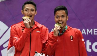 Indonesia Takkan Andalkan Jonatan dan Anthony di Perorangan SEA Games 2019