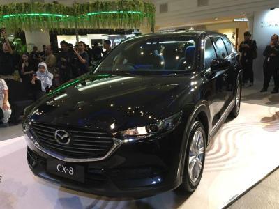 Mazda Resmi Aspalkan CX-8 Terbaru, Simak Banderol & Kelebihannya
