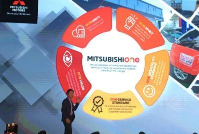 Mitsubishi One Jadi Jargon Baru Tingkatkan Komitmen Pelayanan Purnajual MMKSI
