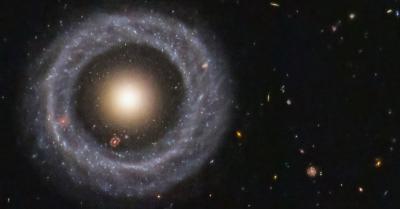 Teleskop Luar Angkasa Hubble Tangkap Objek Galaksi Cincin