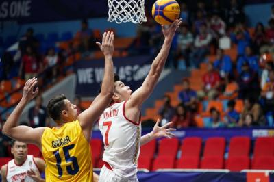 Basket 3X3 Indonesia Sumbang Perak di SEA Games 2019